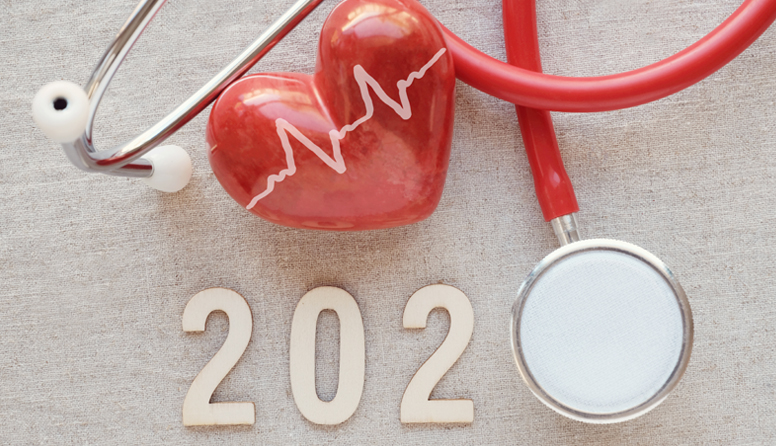 healthinsurance.com what will health insurance look like in 2020 red heart and medical device with 2020 wooden sign
